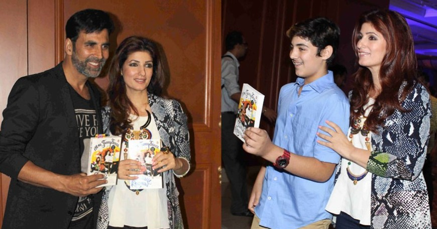Twinkle Khanna launched her book Mrs Funnybones