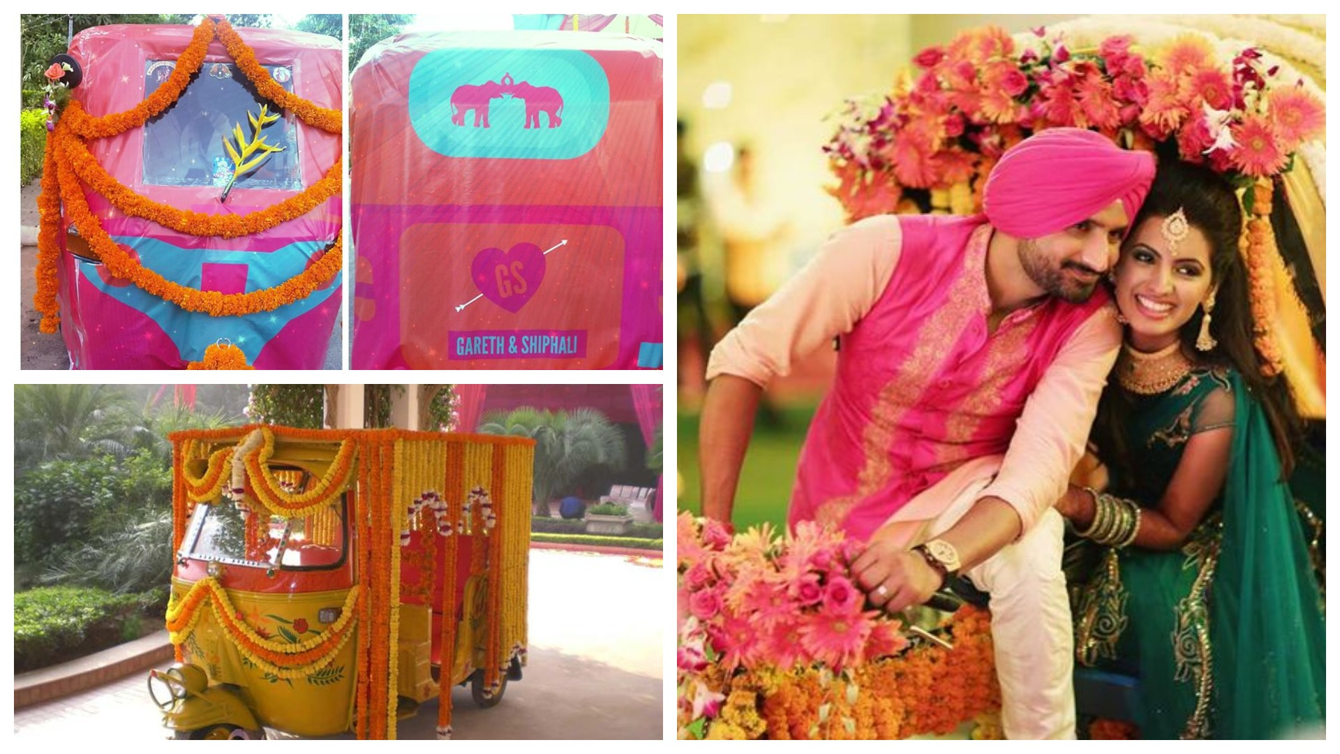 Exquisite Rick and Auto at Indian Weddings