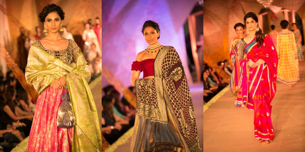 """The Regal Threads"" Manish Malhotra's Love for Benaras and Gujrat Weaves"