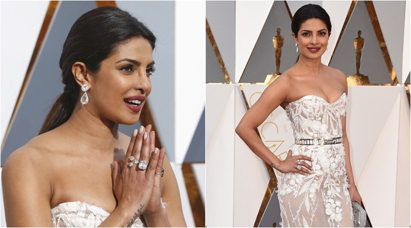 #Oscars2016 : Priyanka Chopra At Oscars Rocks The Fashion Jazz