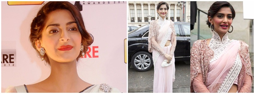7 Saree Styles to Pick From Sonam Kapoor's Wardrobe For Diwali!