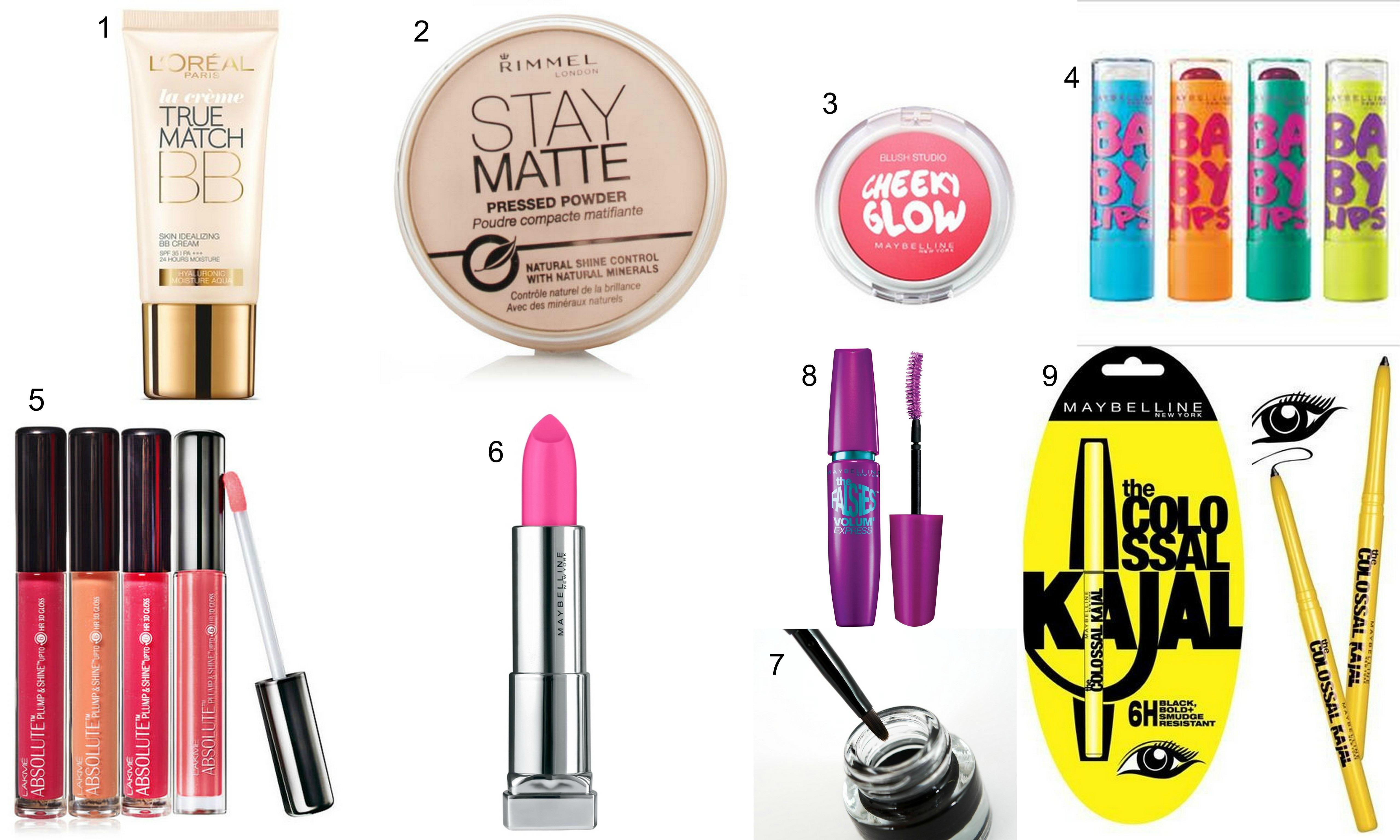 10 Makeup Bag Essential – Beginners