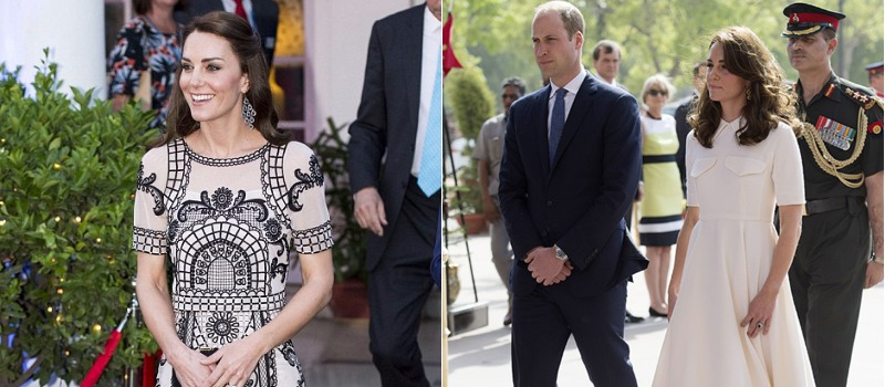 Kate Middleton & Prince William Gear Up For The Royal Birthday On Their Second Day