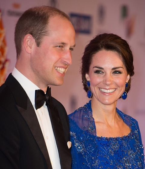 Kate Middleton & Prince William in Star Studded Bollywood Affair