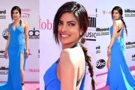 Priyanka Chopra at Billboard Music Awards 2016 in Blue Hues!