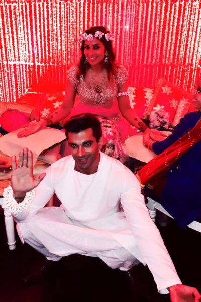 Bipasha's fun-filled Mehendi cum Sangeet ceremony