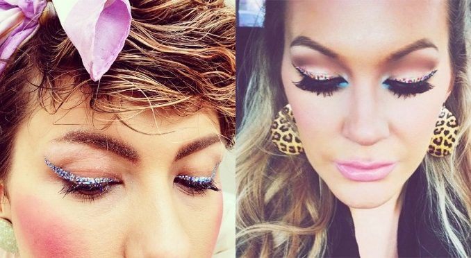 Confetti Eyeliner Is the New Trend