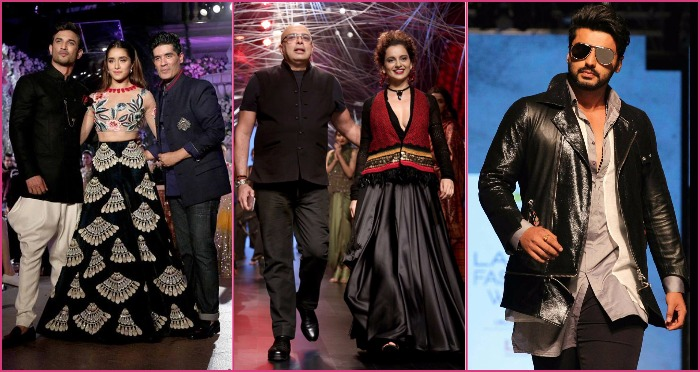 LakmeFashionWeek Winter/Festive2016: Kangana Ranaut Weaves Bridal Magic for Tarun Tahiliani, as Sushant Singh Rajput and Shraddha Kapoor Stun us in Manish Malhotra
