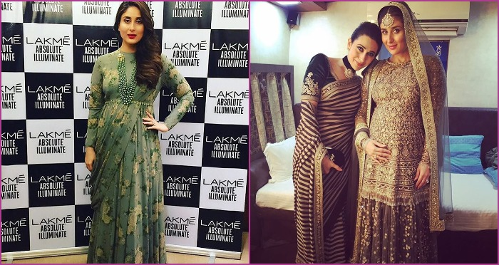 These Pictures of Kareena Kapoor Khan Before and After LFW2016 Walk Will Astound You Even More!