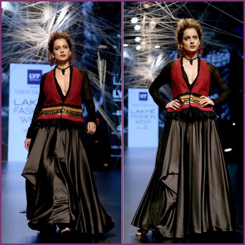 Kangana Ranaut Weaves Bridal Magic for Tarun Tahiliani