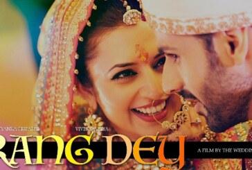 Divyanka Tripathi and Vivek Dahiya's 'Rang Dey' Video is Magical and Mesmerising!