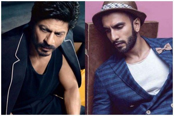 Shah Rukh Khan and Ranveer Singh in dhoom