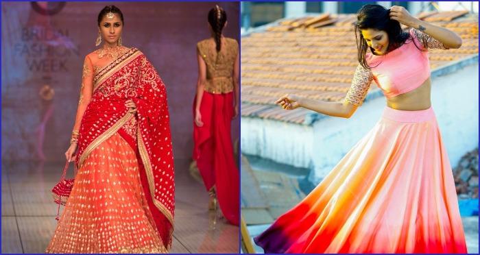 New Age Indian Bride: Most Stylish Designer Lehenga's For Your Mehendi