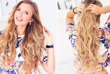 5 Easy Tricks to Get Beachy Wave Hairstyle at Home