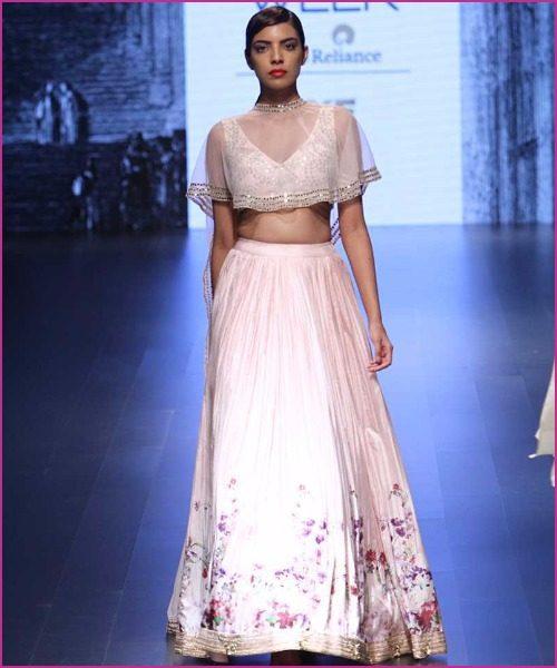 Most Stylish Designer Lehenga's For Your Mehendi