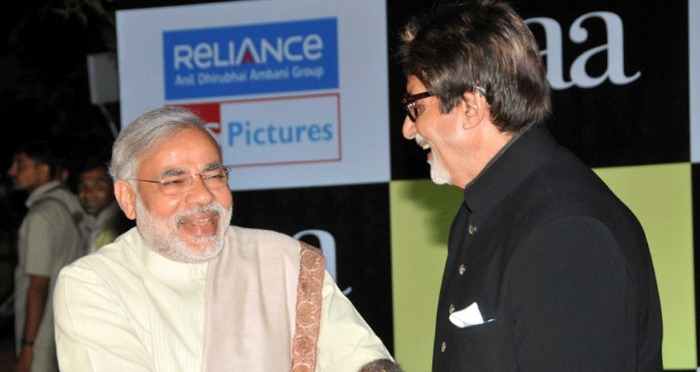 PM Narendra Modi Greets Amitabh Bachchan On His 74th Birthday With This Humble Message
