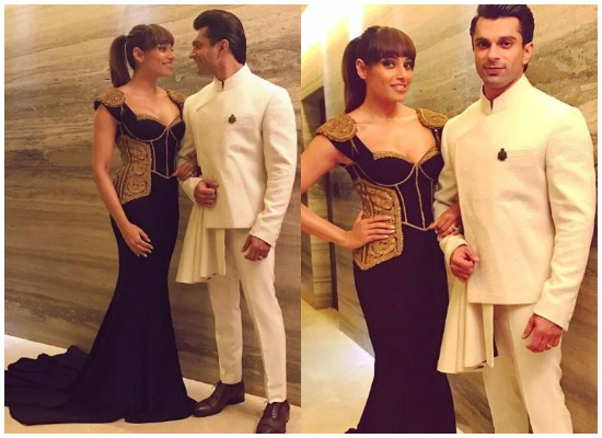 Bipasha Basu and Karan Singh Grover at Filmfare Glamour and Style Awards 2016