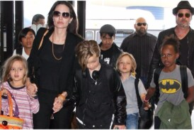 Post Announcement of Divorce from Angelina Jolie, Brad Pitt Reunites with His Kids for the First Time