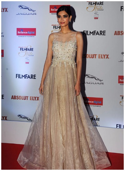 Diana Penty at Filmfare Glamour and Style Awards 2016