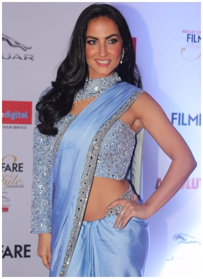 elli avram at Filmfare Glamour and Style Awards 2016