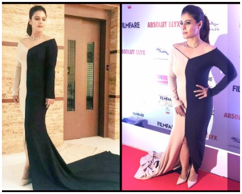 Kajol at Filmfare Glamour and Style Awards 2016