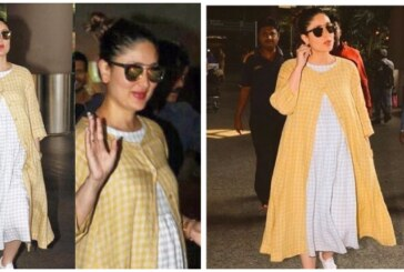 Airport Spotting: Kareena Kapoor Khan's Maternity Style at Airport is Classy and Chic