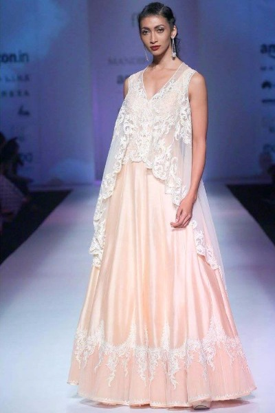 AIFW SS17 Mandira Wirk's gown