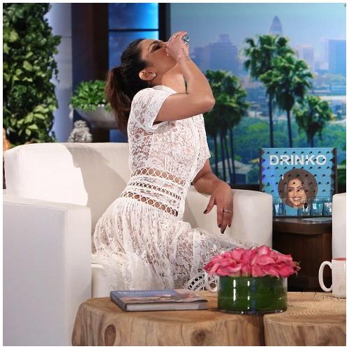 Priyanka Chopra Downs Tequila Shot on The Ellen Degeneres Show