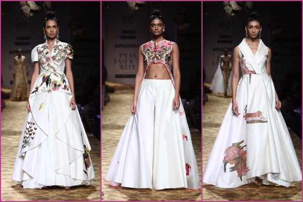 Samant Chauhan's collection at #AIFWSS17