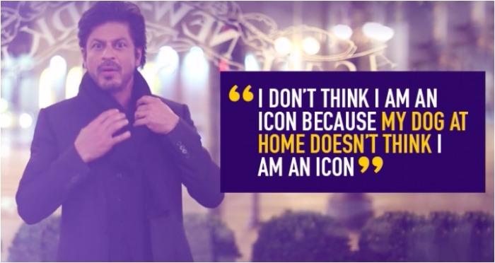 SRK's Hilarious Acceptance Speech On Being Awarded Global Icon Is The Best Thing You'll See Today!