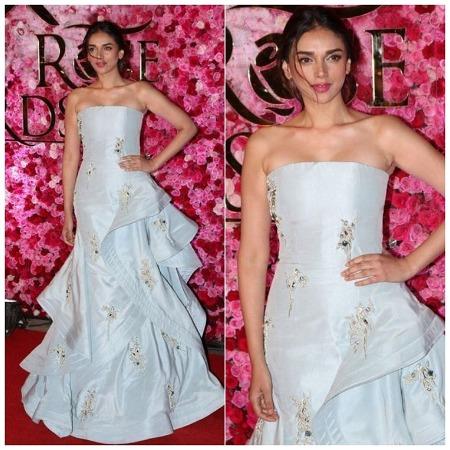 Aditi Rao Hydari at Lux Golden Rose Awards Red Carpet
