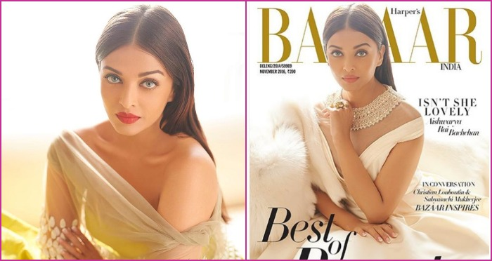 Aishwarya Rai Bachchan Looks Stunning On The Harper's Bazaar November Cover