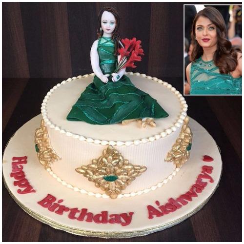 Aishwarya Rai Birthday Cake cannes 2015