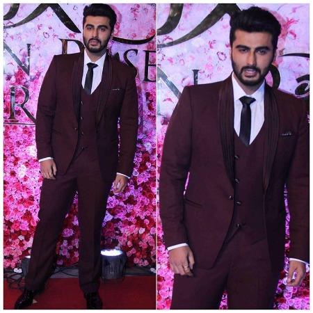 Arjun Kapoor at Lux Golden Rose Awards Red Carpet