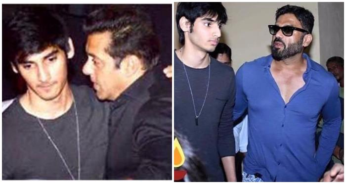 Suniel Shetty's Son Ahan Shetty to make his Bollywood Debut soon?
