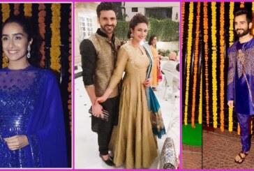 Divyanka-Vivek, Krystle D'Souza, Shraddha Kapoor and Others Looked Gorgeous at Ekta Kapoor's Diwali Celebration!