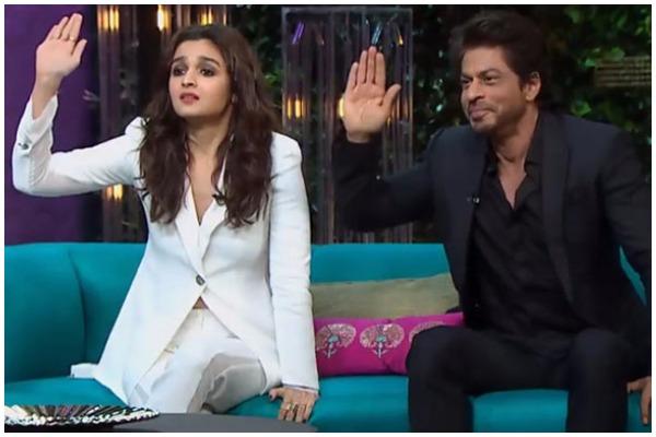 Best Moments of SRK and Alia Bhatt on Koffee with Karan Season 5