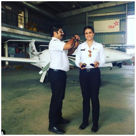 Actress Politician pilot Gul Panag