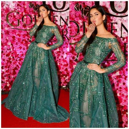 Katrina Kaif at Lux Golden Rose Awards Red Carpet