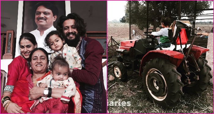 Riteish Deshmukh and Genelia's Family Picture of Diwali is Too Adorable For Words!