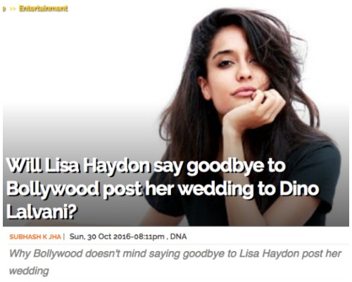 Lisa Haydon smashed for calling her in-laws pakistani
