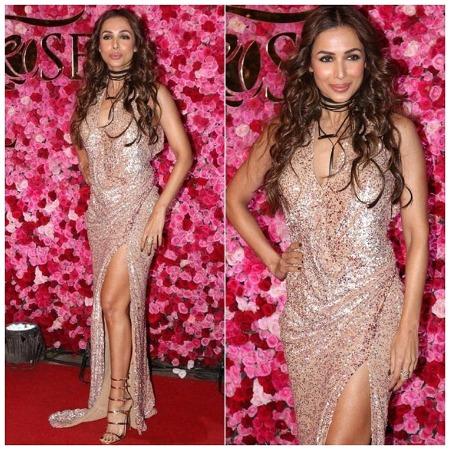 Malaika Arora Khan at Lux Golden Rose Awards Red Carpet