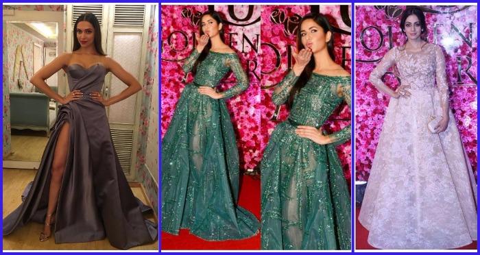 Deepika Padukone, Katrina Kaif, Kareena, Shahid And Others Dazzled At Lux Golden Rose Awards Red Carpet