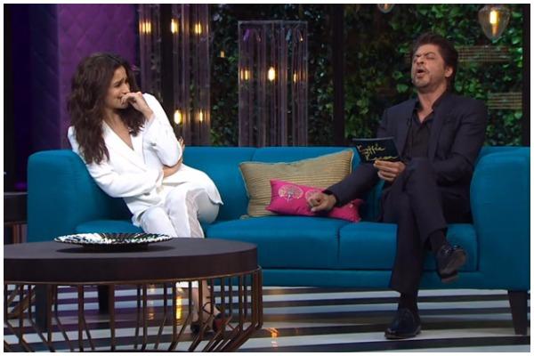 SRK and Alia Bhatt on Koffee with Karan Season 5