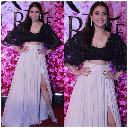 Anushka Sharma at Lux Golden Rose Awards Red Carpet