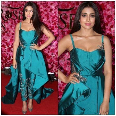 Shriya Saran at Lux Golden Rose Awards Red Carpet