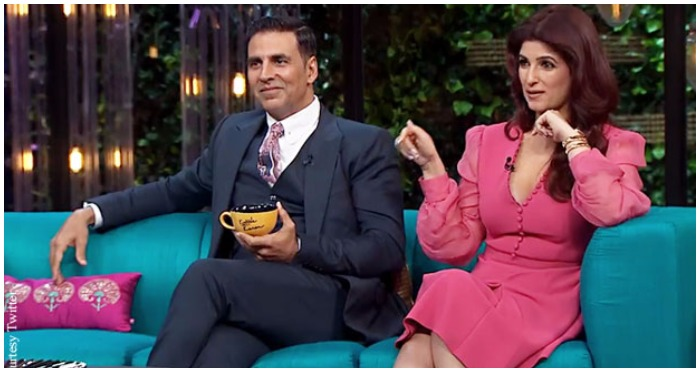 """Koffee With Karan 5: Twinkle Khanna Says Khans Have """"Some extra inches"""" and Akshay Don't"""