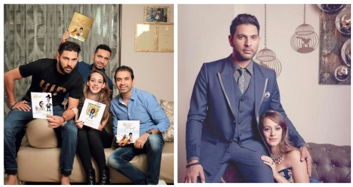 Yuvraj Singh and Hazel Keech's Wedding Preps: From Honeymoon Destination To Premier League Wedding Invitation
