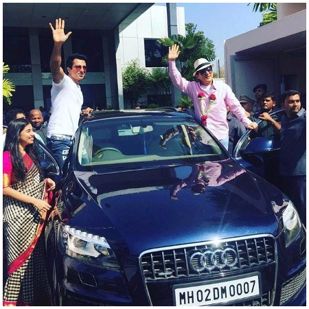 'Kung Fu Yoga' Actor Jackie Chan Arrives India to promote with Sonu Sood