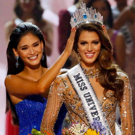 Iris Mittenaere of France is crowned Miss Universe 2017